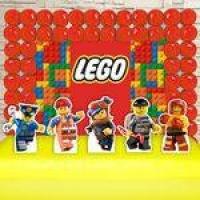 Kit Festa Aniversário Lego Decoração Kit Ouro