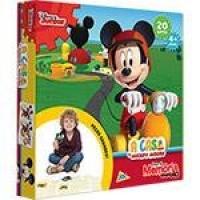 Jogo de Memória  Jak Grandão A Casa Do Mickey - 40 Peças