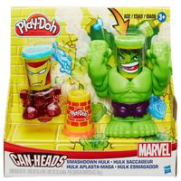 Massinha Play-Doh Esmaga Hulk Marvel Hasbro