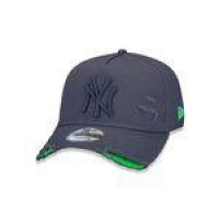 Bone 940 New York Yankees Mlb Aba Curva Cinza New Era