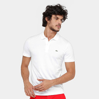 ac5f42f0403ca Camisa Polo Lacoste Malha Original Fit Masculina - Masculino