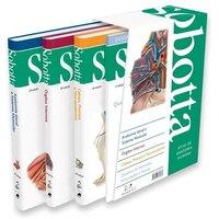 Sobotta - Atlas de anatomia humana  - 3 volumes -24ª EDIÇÃO