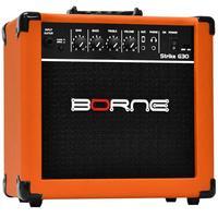 Amplificador Para Guitarra Borne G30 15W Strike Laranja