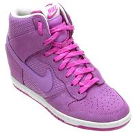 bcf9c3a1d9e Tênis Nike Dunk Sky Hi Essential Feminino Violeta