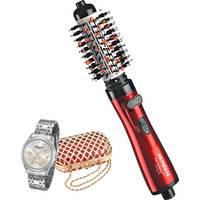 Escova Rotativa Mondial Tourmaline Infinity Ion ER-03 + Relógio Feminino Mondaine Analógico Fashion (Cópia de 12591754)