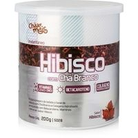 Suplemento Chá Mais Instantâneo Hibisco com Chá Branco 200g