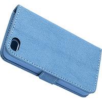 Capa para Celular e Cartão Iphone 4S Case Mix Azul
