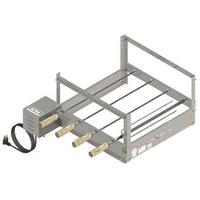 Churrasqueira Rotativa Arke GBI-04 4 Espetos Inox