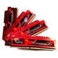 Memoria Desktop Gamer G.Skill Ripjawsx 32GB 4X8GB 240P DDR3 1600 12800 F3-12800CL10Q-32GBXL