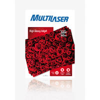 Papel Fotográfico Multilaser Glossy Paper A4 50Folhas PE031