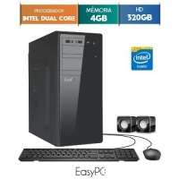 Computador Desktop Easypc 5401 Dual Core 2.41GHz 4GB 320GB Windows 10