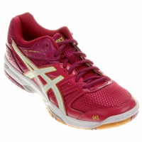 asics gel rocket rosa