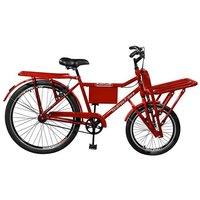 Bicicleta Super Cargo Aro 26 Master Bike - Vermelho