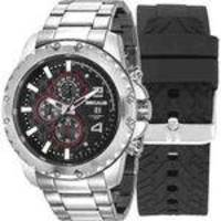 Relógio Seculus Masculino 20604g0svns1 + Pulseira Silicone