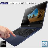 Ultrabook Asus ZenBook 3 UX430UA i7-7500U 13.3 500GB 16GB Windows 10 Azul