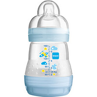 Mamadeira Mam First +0 Meses 160ml Verde