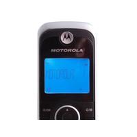 Telefone sem Fio Digital Motorola Gate 4800BT DECT 6.0 com Id. de Chamada Prata e Preto