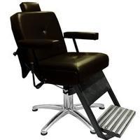 Cadeira De Barbeiro Reclinável Monza - Café
