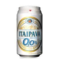 Cerveja Itaipava 0,0 Álcool Lata 350 ml