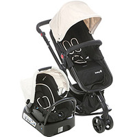 Carrinho de Bebê Safety 1St Travel System Mobi Ts Bege
