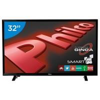 Smart TV LED 32 Philco PH32E20DSGWA Conversor Digital 2 HDMI 2 USB