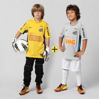 851770c1e5 Camisa Nike Santos Goleiro 12 13 Sem Número Infantil Amarela + Camisa Nike Santos  Goleiro