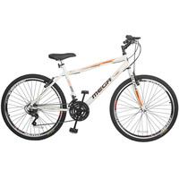 Bicicleta Mega Bike Sport Gold Aro 26 21 Marchas Branca