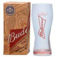 Copo De Cerveja Budweiser 400ml - Caixa Individual