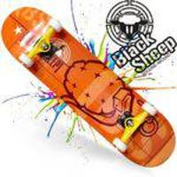 Skate Montado Black Sheep Iniciante Dinamite