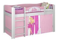 Cama Infantil Pura Magia Barbie Play Branco