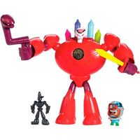 Figuras Imaginext Teen Titans GO Super Cenas Fisher-Price B.R.I.A.N.