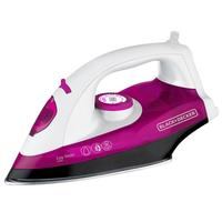 Ferro a Vapor Black & Decker Easy Steam X5000 Rosa