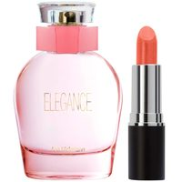 Perfume Ana Hickmann Elegance 100ml + Batom Marcelo Beauty Metal Look Public c2bed8fbcb