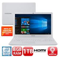 Notebook Samsung Expert X22 NP300E5M KD3BR Core I5 7200U 2.5GHz 8GB 1TB Windows 10