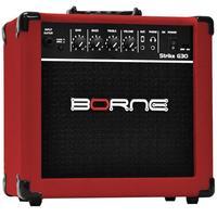 Amplificador Para Guitarra Borne G30 15W Strike Vermelha