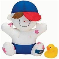 Boneco K´s Kids Wayne Hora do Banho Branco e Azul