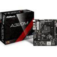 Placa Mãe AsRock A320M (AM4/DDR4/PCI/6 USB 3.1)