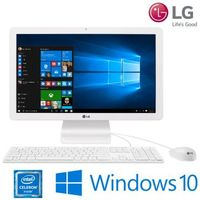 Computador All in One LG 22V240-L.BJ34P1 Celeron-N2930 Quad Core 4GB 500GB 21.5 Windows 10