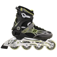 Patins Fila Helix Black Lime 10614207