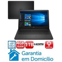 Notebook Dell Inspiron I15 5566 a10p Intel Core I3 6006u 15.6 Windows 10