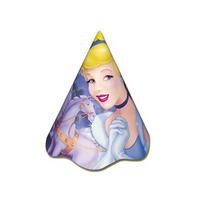 Chapéu de Aniversário Regina Festas Cinderella 10 Unidades