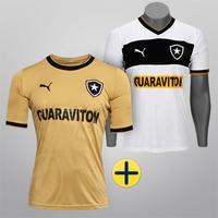 Camisa Puma Botafogo 12 13 s nº Ed. Especial Masculina Dourada + Camisa 75ec2b39eddb3