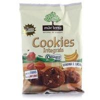 Cookies Orgânico Mãe Terra Banana e Cacau 120g