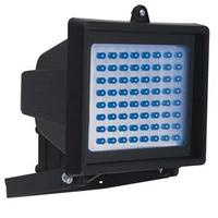 Refletor de Led Key West DNI 6051 com 60 Leds Azuis Bivolt