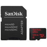 Cartão de Memória Sandisk Micro SD Ultra 128GB