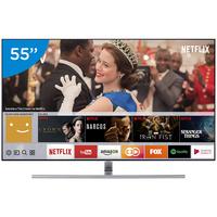 Smart TV QLED 55'' 4K Samsung QN55Q7FAMGXZD Q7F Conversor Digital