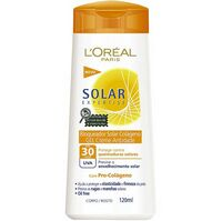 Protetor Solar Gel Creme Colágeno FPS 30 120ml L'oreal