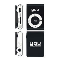 MP3 Player You Sound 8GB Preta