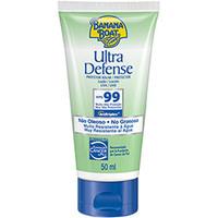 Protetor Solar Ultra Defense Loção FPS 99 Banana Boat