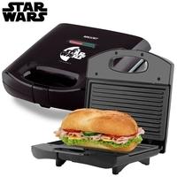 Grill e Sanduicheira Star Wars Mallory 750W Aço Inox